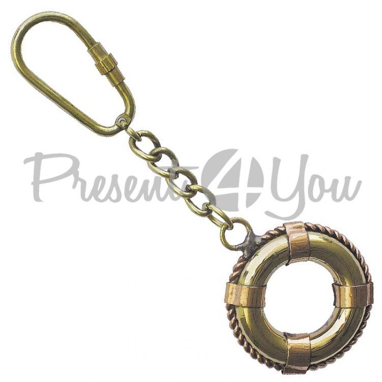 Морской сувенир брелок Спасательный круг, Sea Club, 5 см. (1065.V)