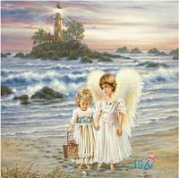 "Набор для рисования камнями ""Ангелочки у моря"""