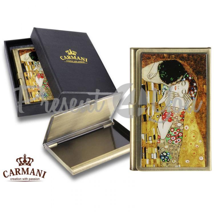 Визитница Г. Климт «Поцелуй» Carmani (013-3001)