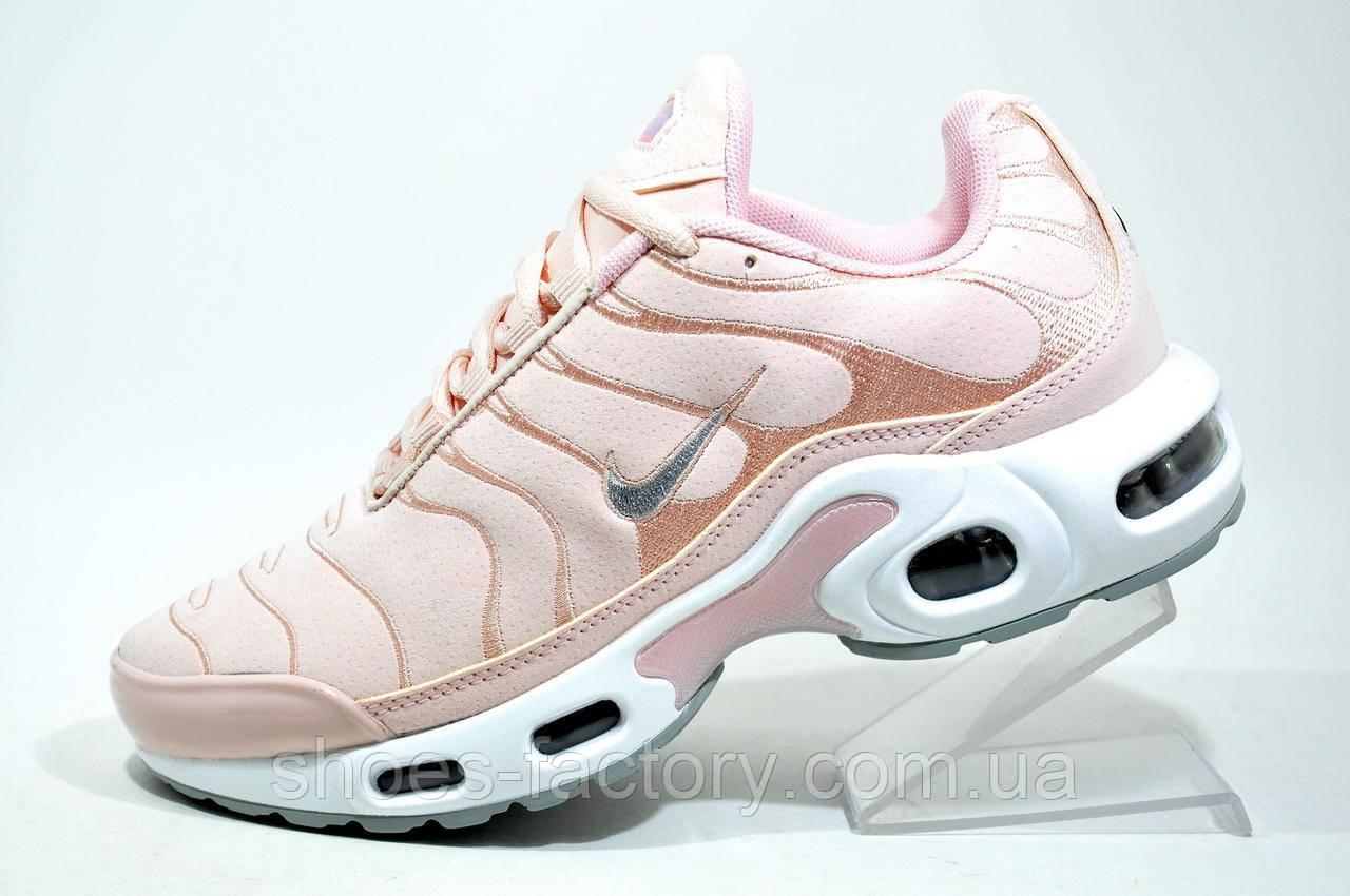 987b13f3b4311b Женские кроссовки в стиле Nike Air Max TN Plus, Pink - Интернет магазин  спортивной обуви