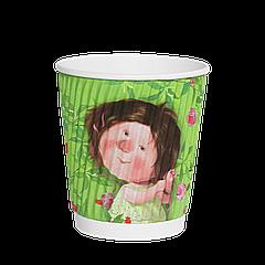 Стакан гофрированный Gapchinska 250мл (30/28/840) (КВ80)