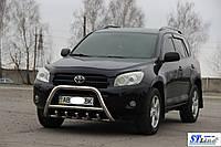 Защита переднего бампера (кенгурятник)  Toyota Rav-4 (10-12)