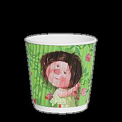Стакан гофрированный Gapchinska 180мл (30/35/1050) (КР72)