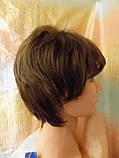 Парик каскад из канекалона темно-русый 5089-8, фото 7