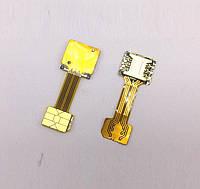 Переходник на 2 Nano SIM + MicroSD в комбинированный лоток