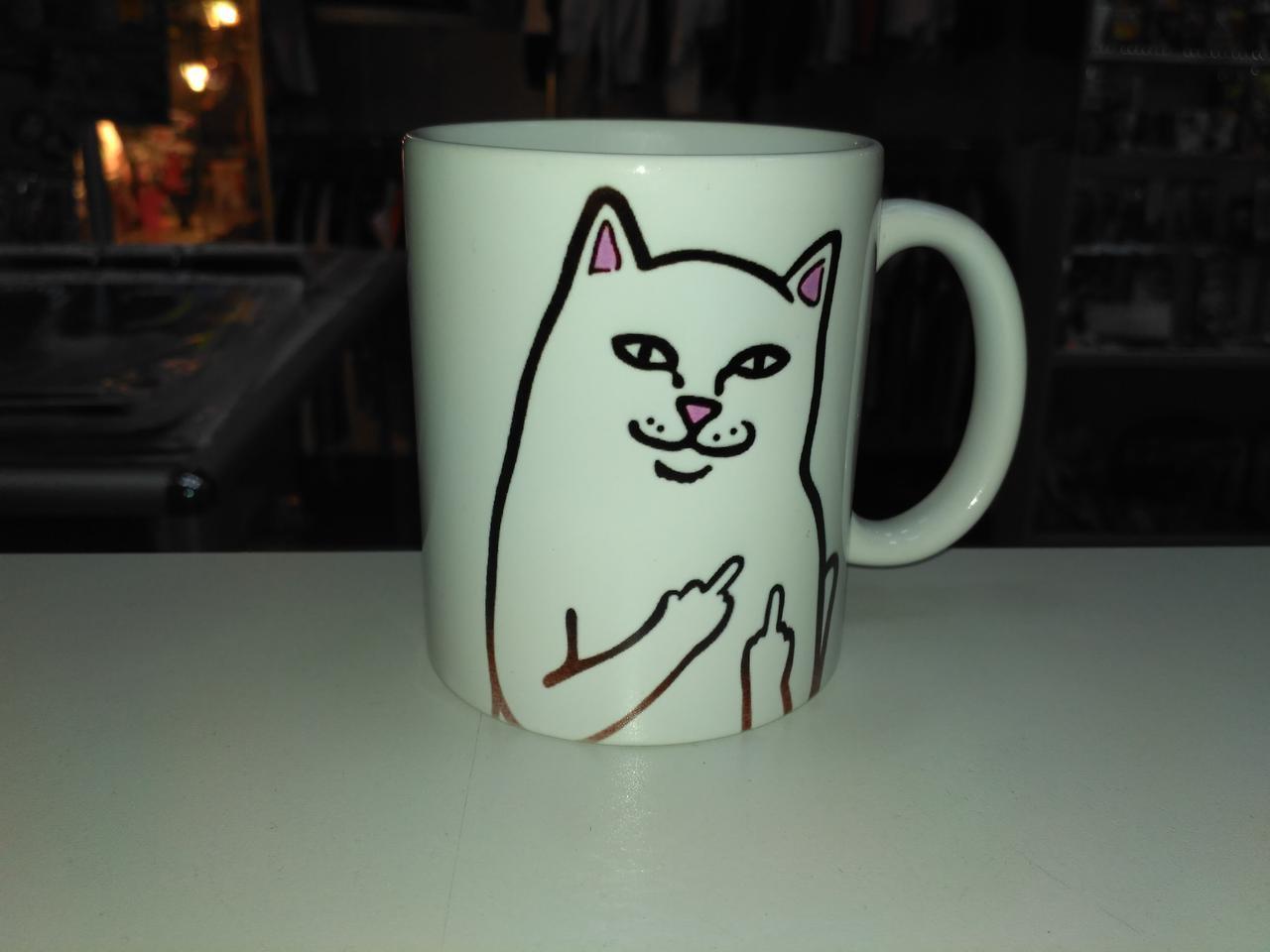 Чашка Ripndip кот