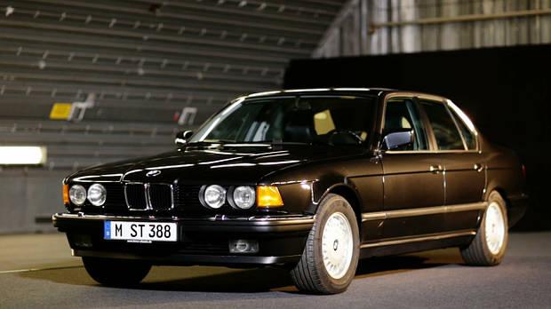 Лобовое стекло BMW 7 E32 с шелкографией (1986-1994)