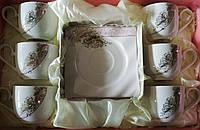 Набор чайный украшенный стразами 1902/43