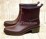 Резиновые ботинки для женщин и девушек р.36-41, фото 2