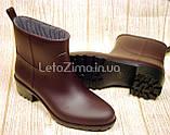 Резиновые ботинки для женщин и девушек р.36-41, фото 4