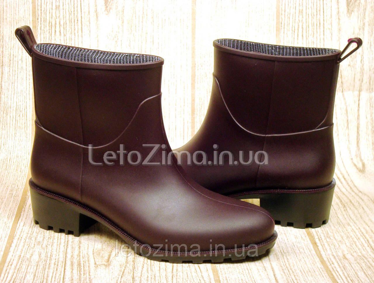 Резиновые ботинки для женщин и девушек р.36-41