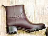 Резиновые ботинки для женщин и девушек р.36-41, фото 6