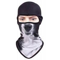 Велосипедная защитная маска с изображением лица животного Стиль 3