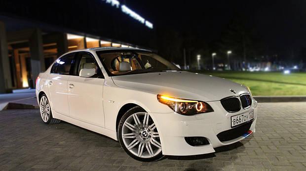 Лобовое стекло BMW 5 E60/61 (седан/универсал) (2003-2009)