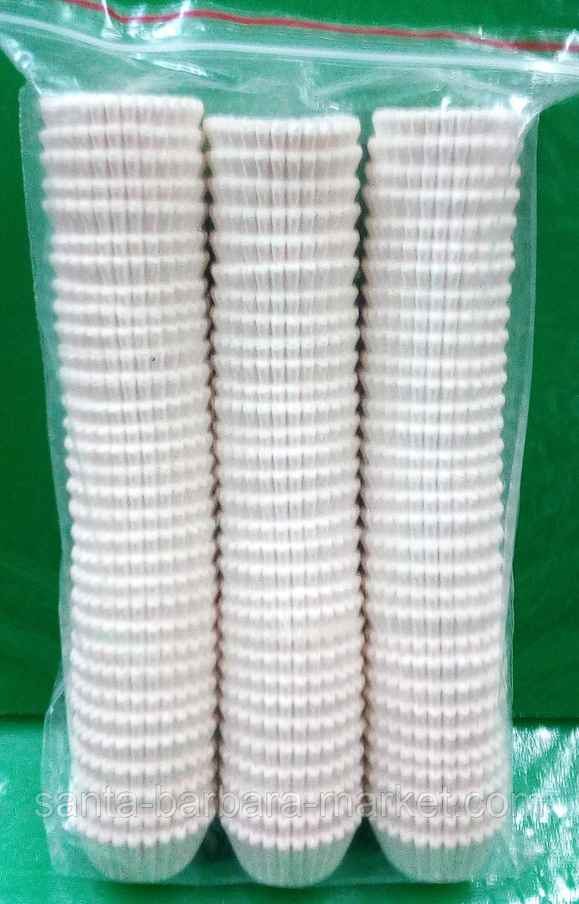 Кекс пергаментный Ф=3.5см (1000шт.) выс.20мм