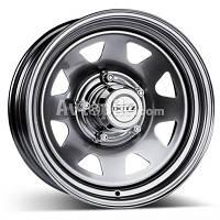 Стальные диски Dotz Dakar R15 W6 PCD5x139.7 ET0 DIA110.1 (silver)