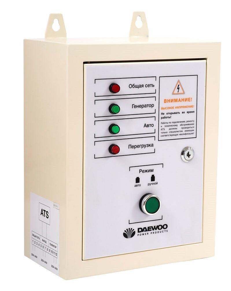 Блок автоматичного керування генератором Daewoo ATS 12500E-3 (ATS 15-380) Expert Line