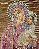 """Набор для рисования камнями """"Матерь Божья """""""
