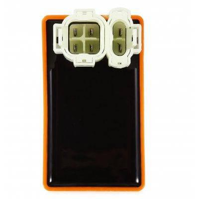 6 контактная CDI коробка для мотоцикла Оранжевый, фото 2