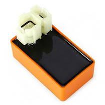 6 контактная CDI коробка для мотоцикла Оранжевый, фото 3