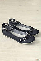 Туфли темно-синие с цветочками (36 размер)  Asso 2126000267552