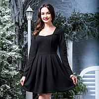 "Чорне коротке плаття нарядне ""Омега"", фото 1"
