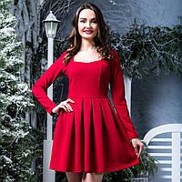 """Красивое нарядное короткое платье """"Омега"""", фото 1"""