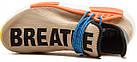 Мужские кроссовки Adidas NMD Human Race Trail Pharrell Williams (в стиле Адидас НМД) бежевые, фото 8