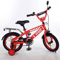 Велосипед дитячий PROF1 14д. T14171 Flash,червоний