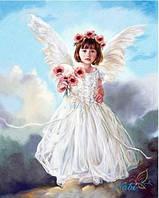 """Набор для рисования камнями """"Ангелочек"""""""