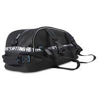 Седло 8L двойной слой велосипед задние сиденья Магистральные сумки Чёрный