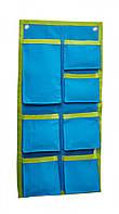 Органайзер для одежды и нижнего белья в шкаф bq-style 11-100101 голубой с салатовым