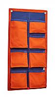 Органайзер для одежды и нижнего белья в шкаф bq-style 11-100103 оранжевый с синим