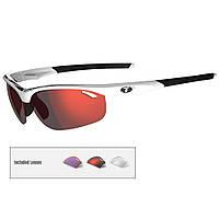 Tifosi Veloce Interchangeable Lens Sunglasses White/Black/