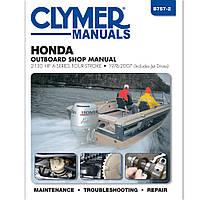 Clymer Honda 4 Stroke 2-130 Hp Ob 1976-2007