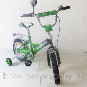 Велосипед EXPLORER 14 дюймовT-21414 green -black