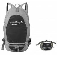 Сумка на пояс складной рюкзак для путешествий Чёрный