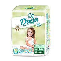 Подгузники Dada Extra soft 6 EXTRA LARGE - 42 шт. / 15+ кг, фото 1