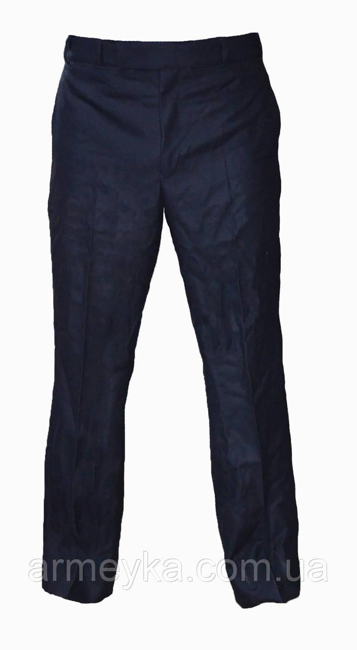 Полицейские шерстяные брюки Temperate Trousers, черные. НОВЫЕ. Великобритания, оригинал.