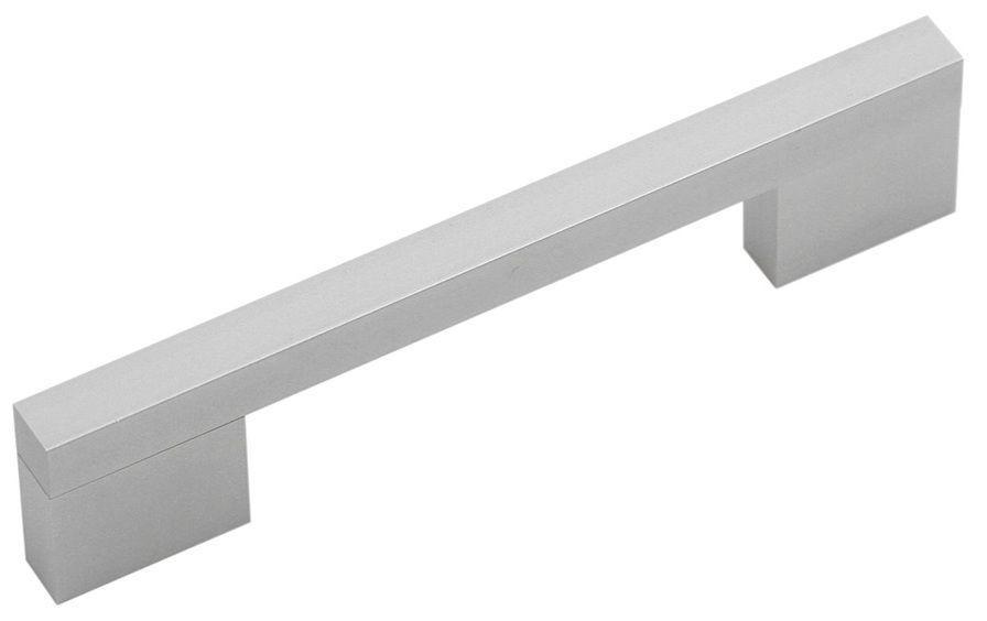Ручка мебельная AR33 144/128 алюминиевая