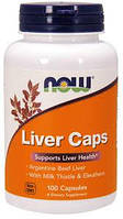 Поддержка печени Liver Caps (100 cap) NOW USA