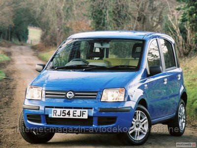Брызговики модельные Fiat Panda (Лада Локер) 2003-