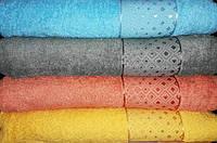 Полотенце махровое Lux home ромб (сауна)