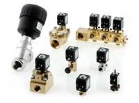 Клапаны электромагнитные нормально закрытые модели