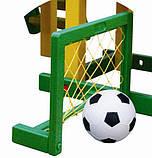 Ігровий майданчик: гірка + баскетбол + ворота, фото 4