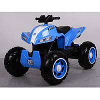 Квадроцикл детский M 3607 EL-4 свет, звук , mp3, синий