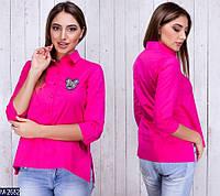 Рубашка (42, 44, 46, 48) —коттон купить оптом и в Розницу в одессе 7км