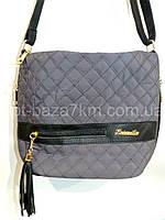 Женская сумка LIZA, плащевка/экокожа (27*24*12) — купить в Розницу недорого в одессе 7км