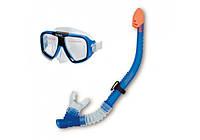 Набор для плавания Reef Rider Intex от 8 лет: маска с трубкой (Intex 55948)