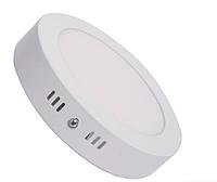 Накладной светодиодный светильник 18Вт LM423 6400K круг, фото 1